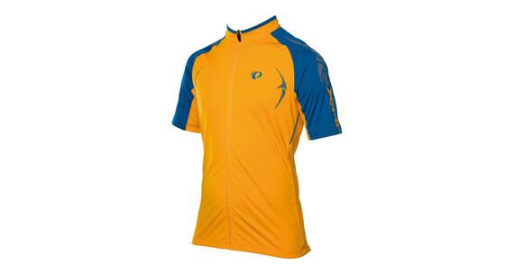 PEARL iZUMi X-Alp Jersey Men blazing orange/mykonos blue